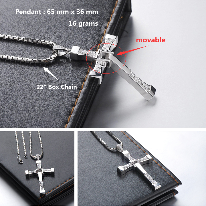 Cross necklaces for men necklace wallpaper gallerychitrak blue sweet couple necklaces fast and furious cross pendant for men aloadofball Images