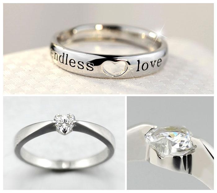Heart Cut Diamond Engagement Ring Amp Open Heart Black