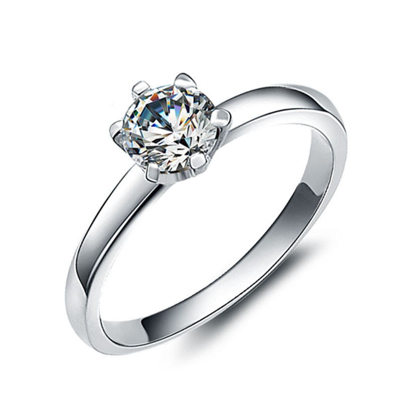 cubic engagement ip carat g halo t zirconia sterling silver w diamond ring miabella