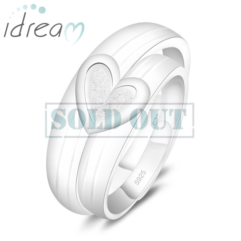 adjustable wedding couple prince lover band htm rings s end bands p pm ring sale silver princess