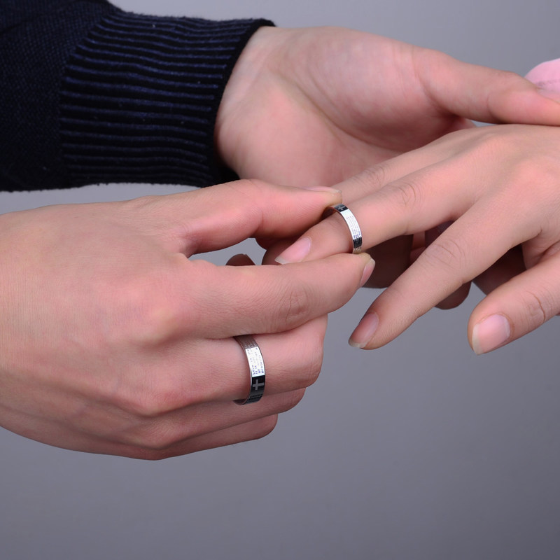 Wedding Ring Bands On Hand