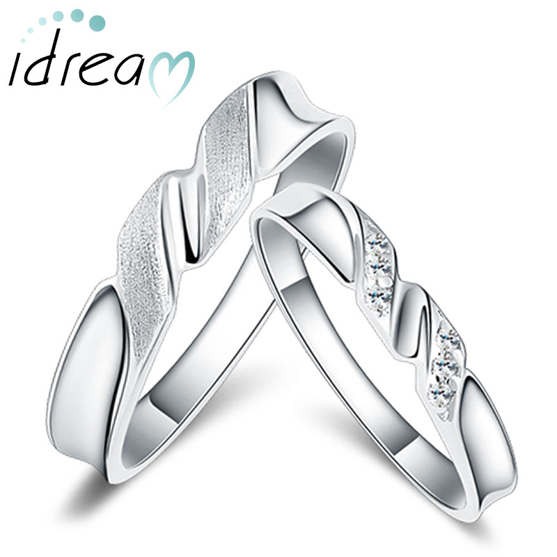 twisted rings ring new customized silver couple arm personalized